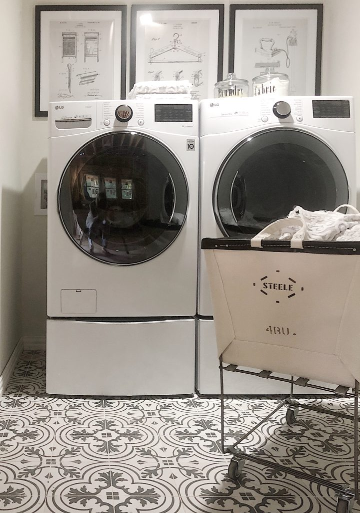 Laundry Room Waco Rental Home Tour
