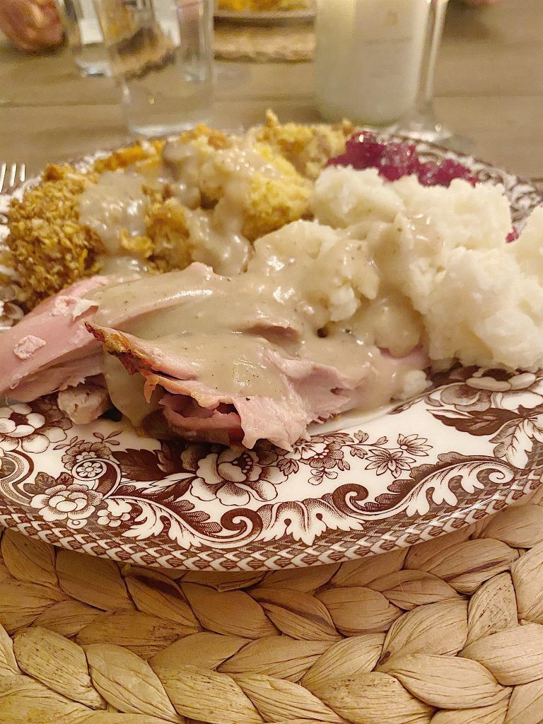 thanksgiving dinner food