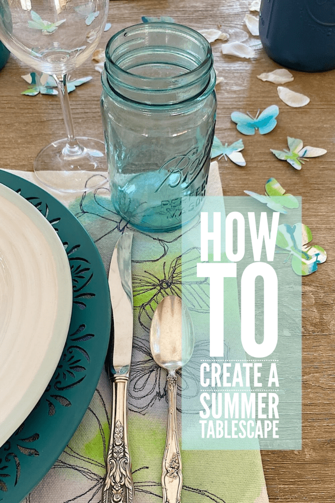 Create a Summer Tablescape
