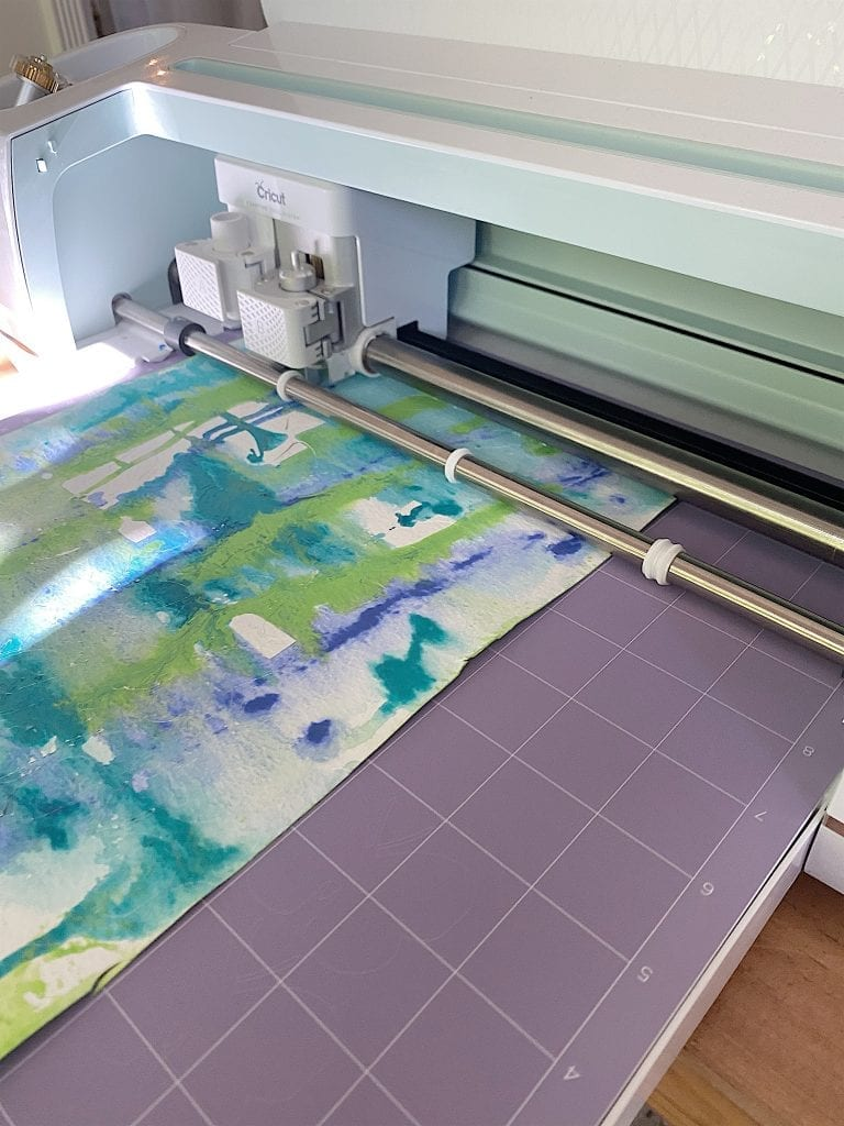 Cricut Cutting Watercolor Paper