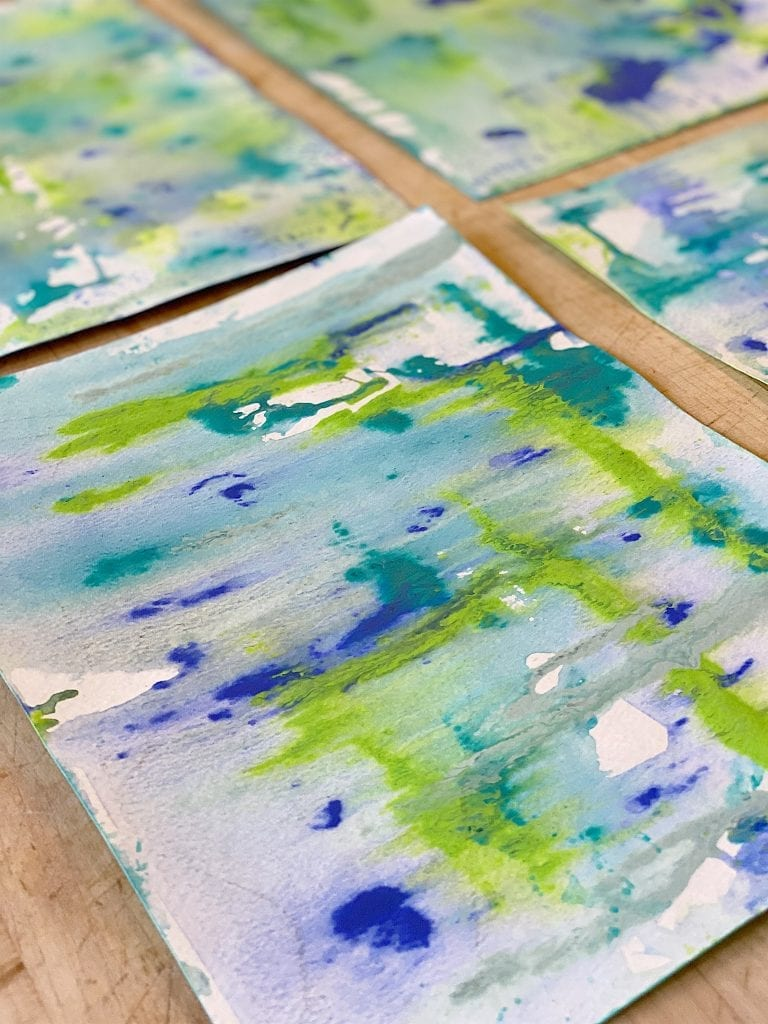 DIY Homemade Watercolor Paper