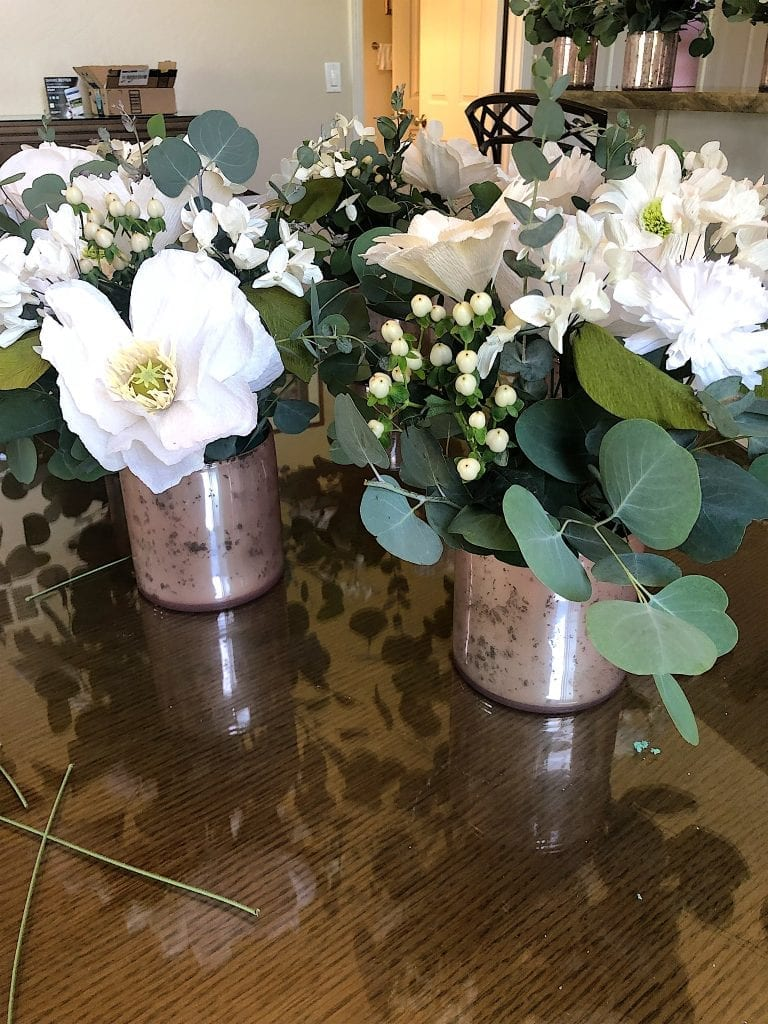 Floral Arrangements for the Rehearsal Dinner