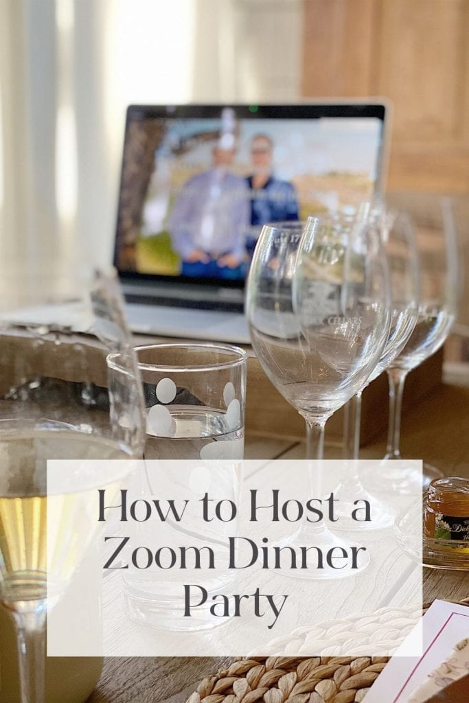 How to Host a Zoom Dinner Party