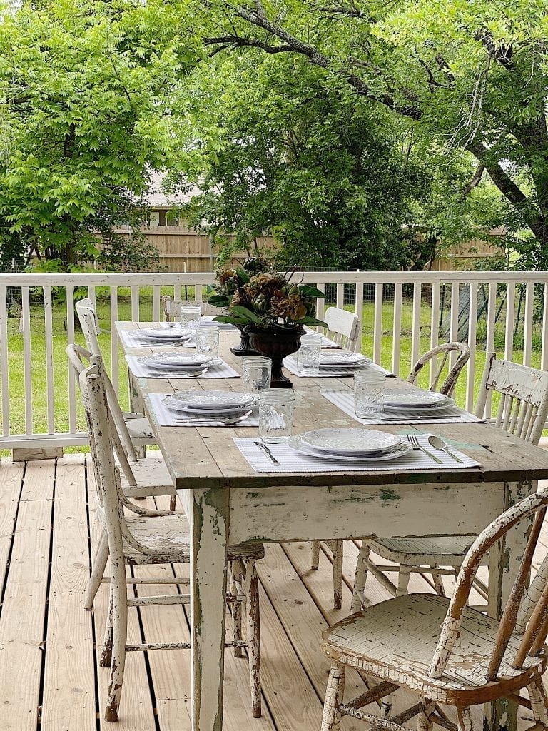 Porch Dining Table