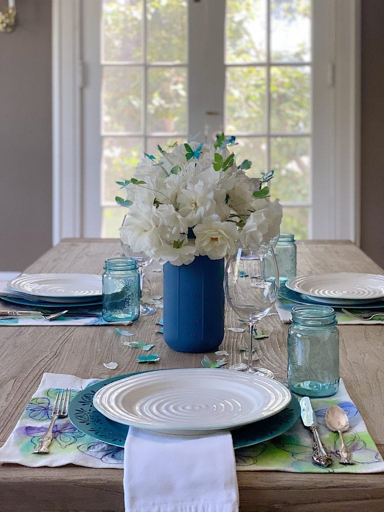 Spring Table Butterfly Theme