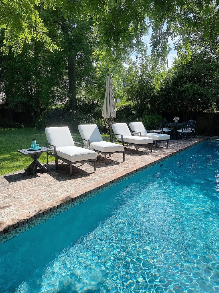 Summer Poolside Chaises
