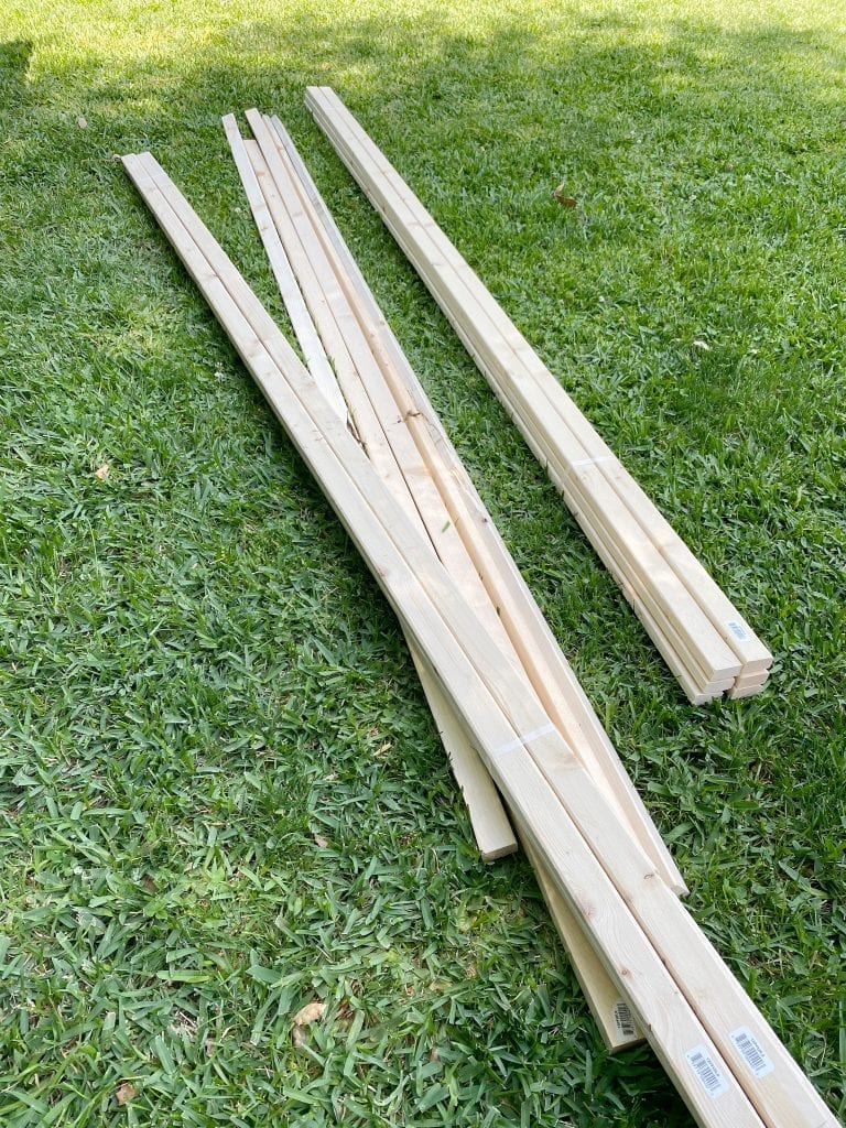 Wood for Tomato Cages
