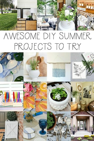 awesome DIY summer projects to try Seasonal Simplicity Summer Series-2