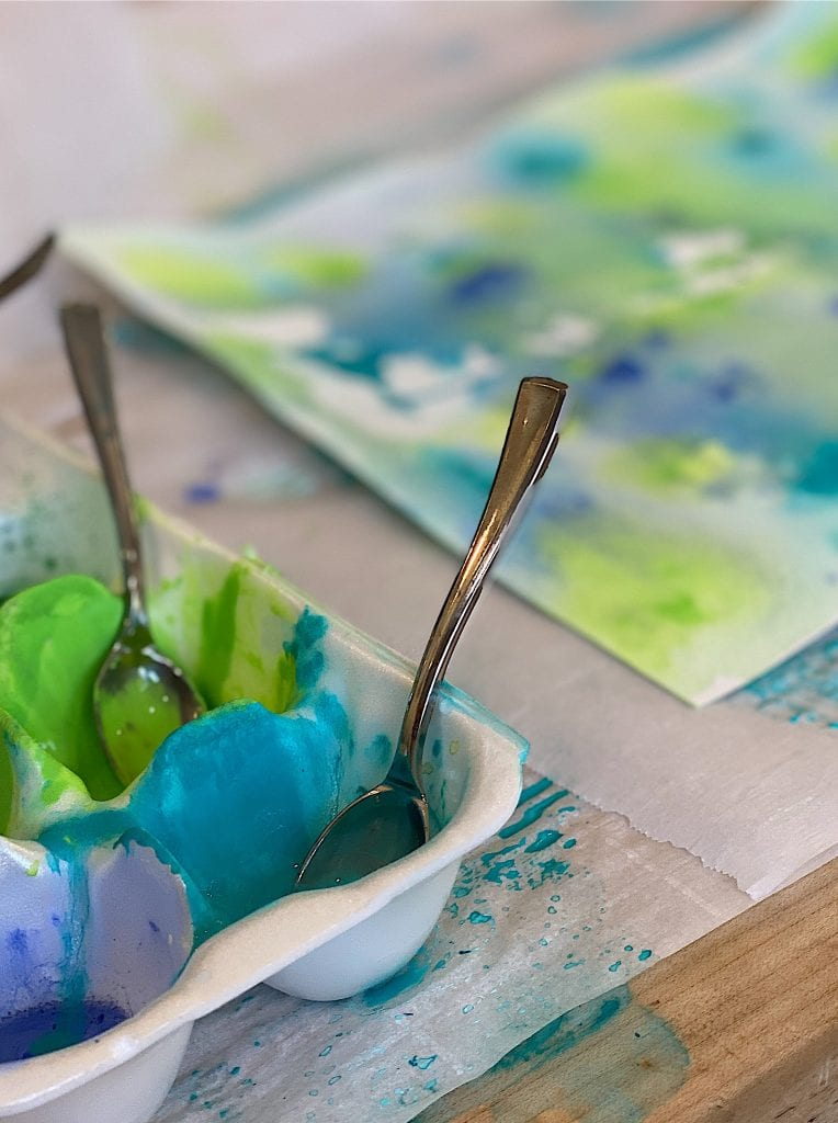 how to make watercolor paper