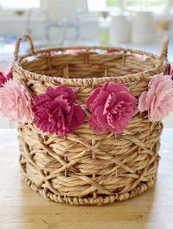 Peony Basket