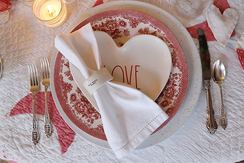 Valentine's Day Transferware
