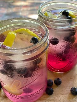 Blueberry Lemon Summer Coolers