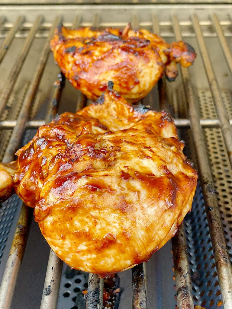 Best Grilled Chicken Breast and Barbecue Sauce Recipe