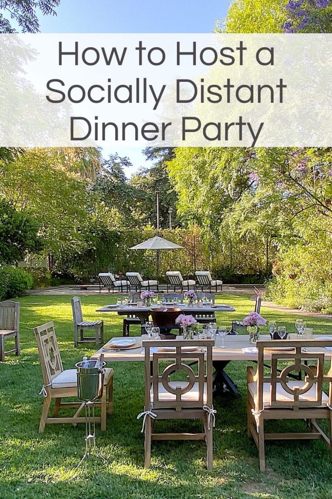 How to Host a Socially Distant Party