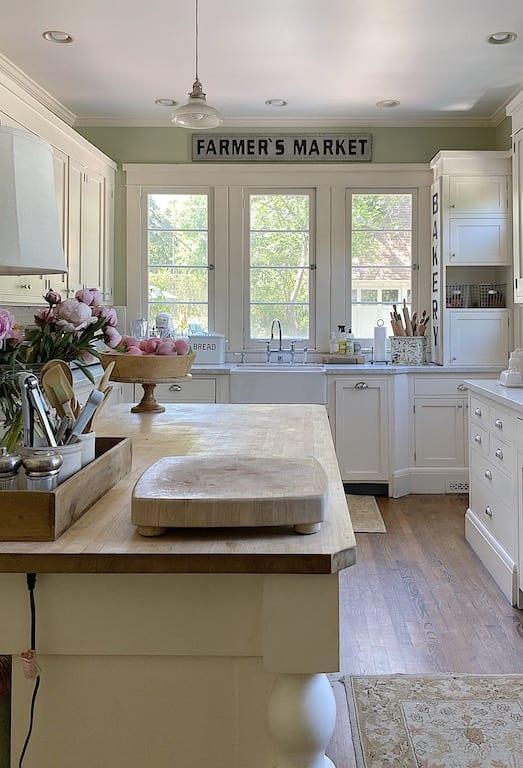 Kitchen view for Summer Refresh