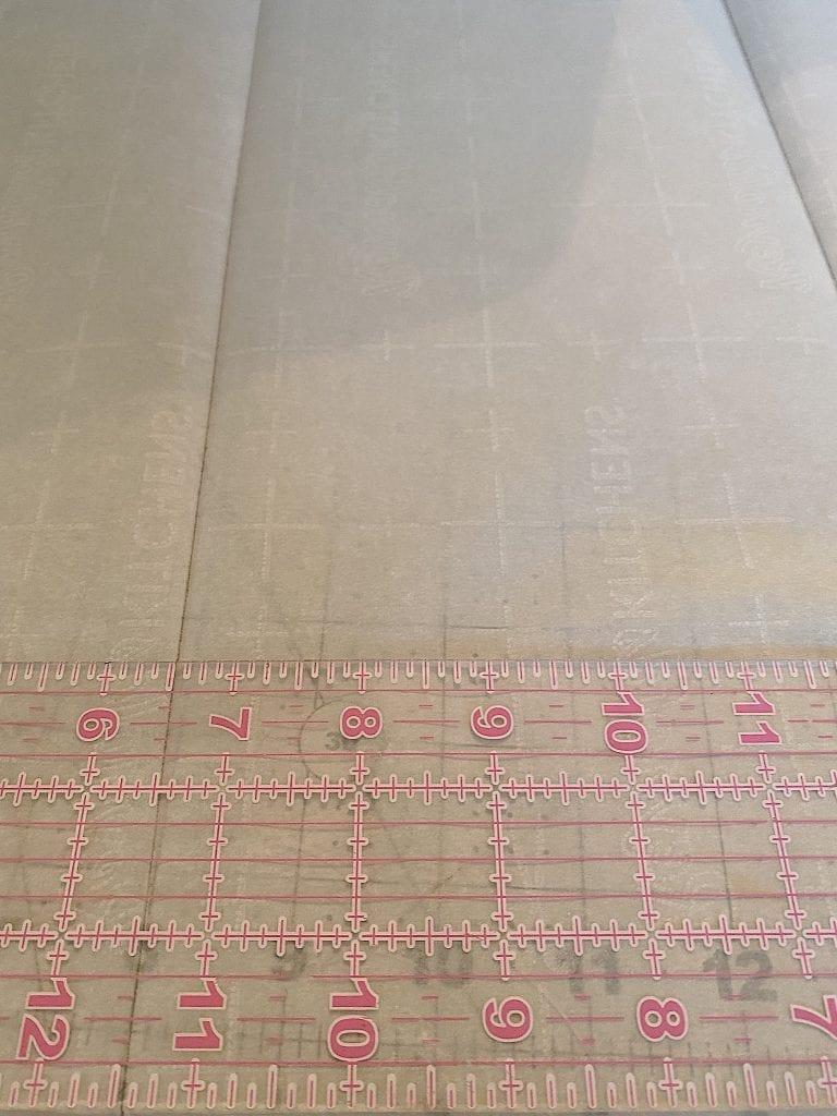 Measure the Parchment Paper