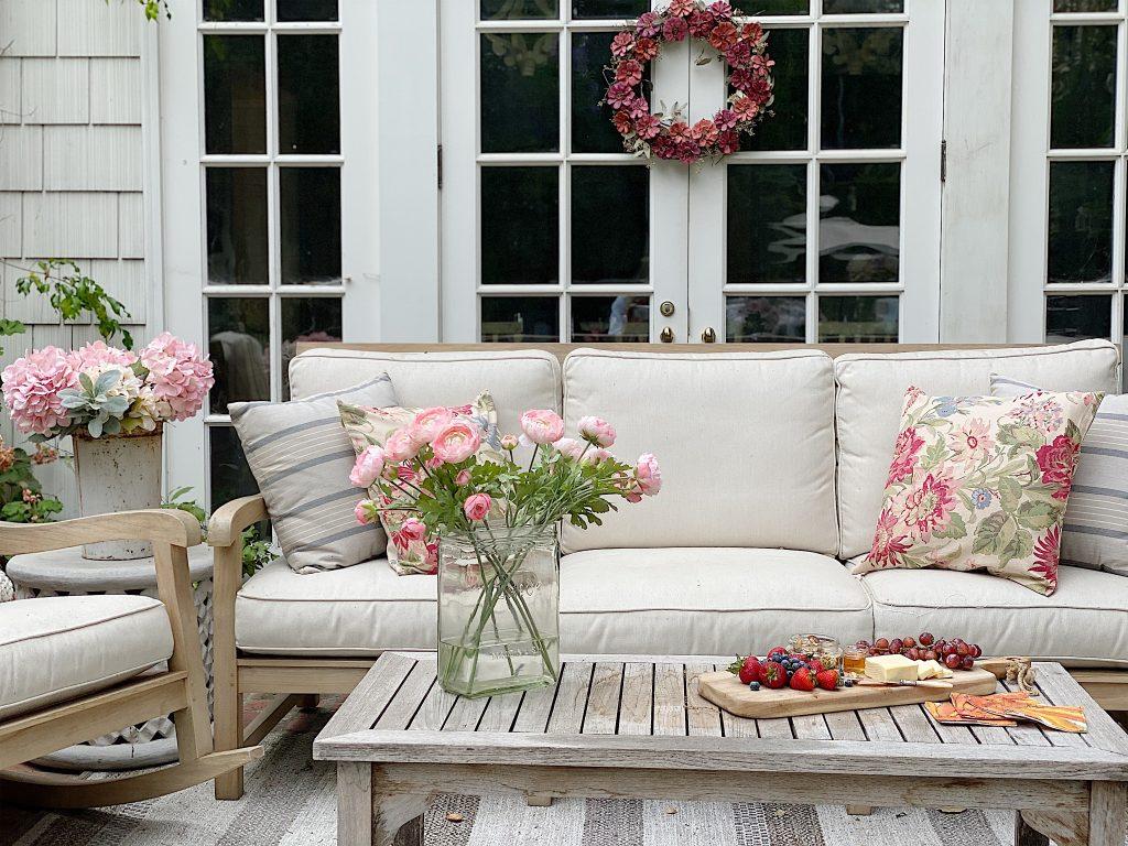 Summer Backyard Patio