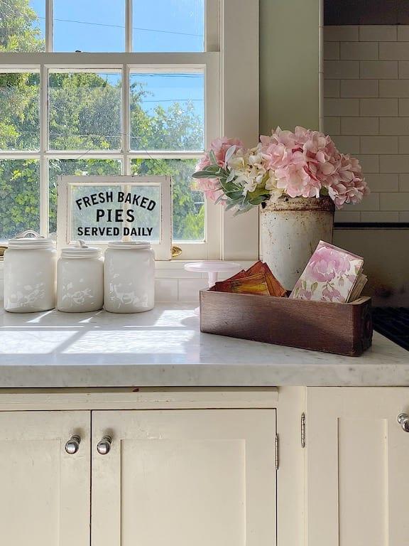 Summer Kitchen View
