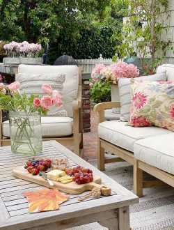 Summer Outdoor Patio
