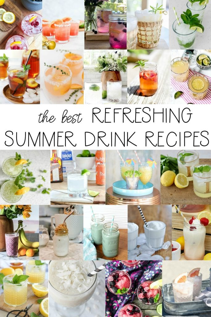 the best refreshing summer drink recipes