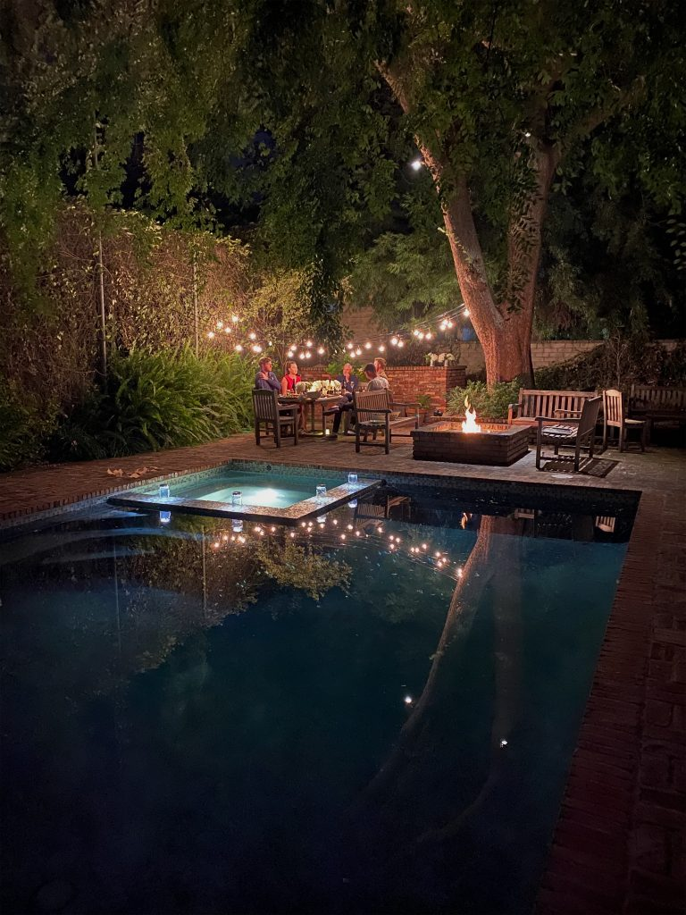 Entertaining in Your Backyard
