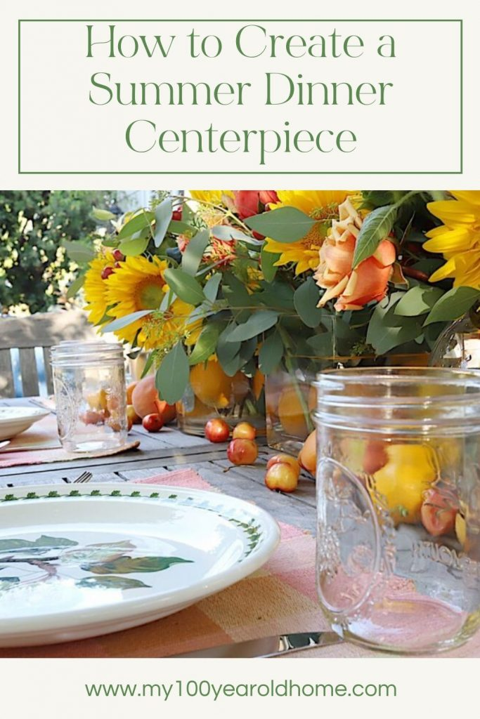 How to Create a Summer Dinner Centerpiece