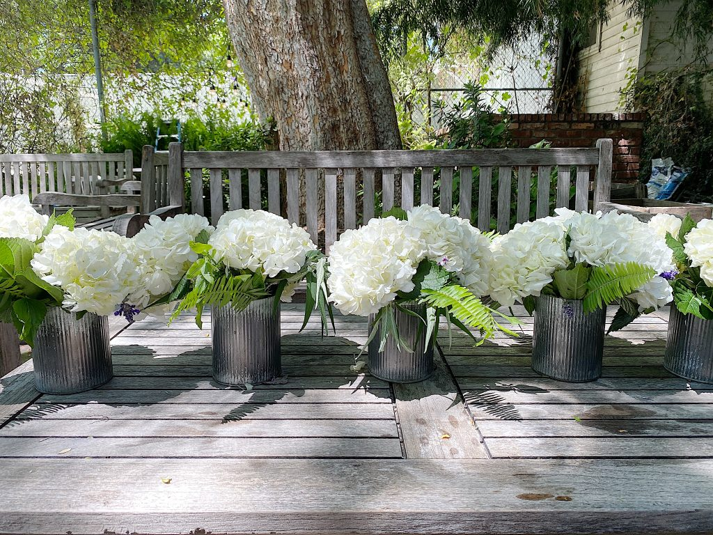 Making the Centerpieces