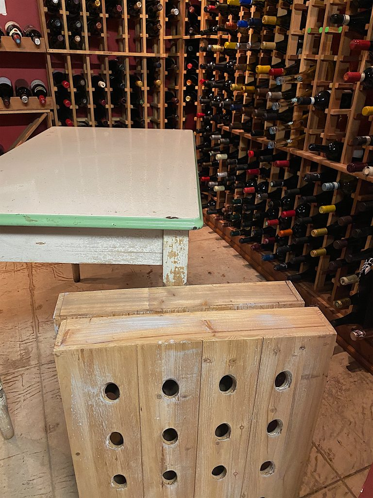 Making the Wine Table