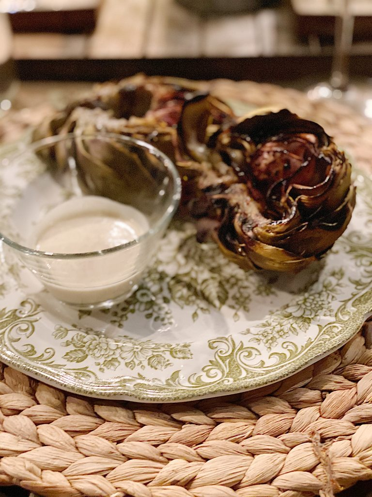 The Best Grilled Artichokes
