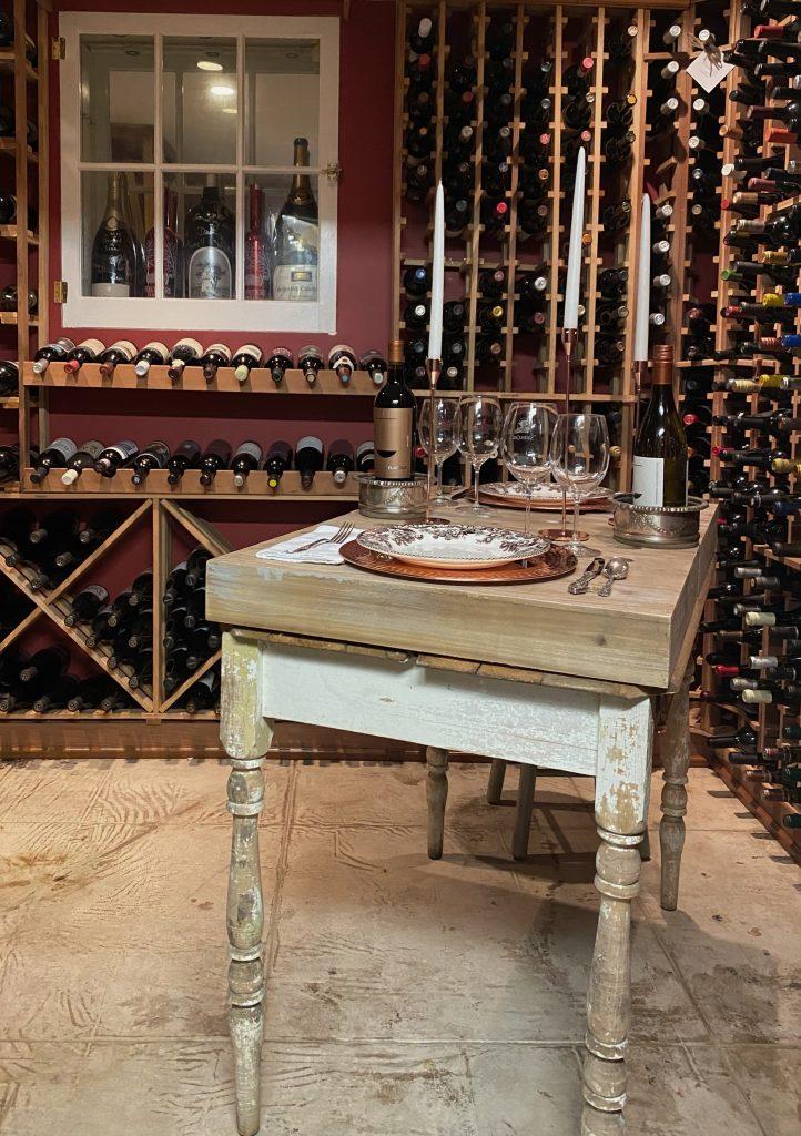 Wine Table Dinner