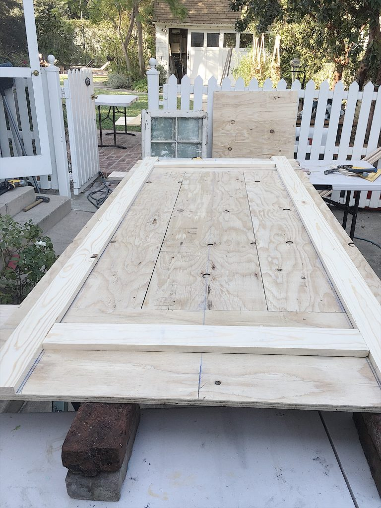 Adding the Frame to Wood Table Tops