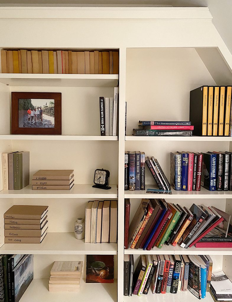 After and Before Bookshelves