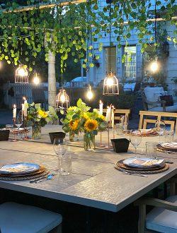 Backyard Outdoor Dining