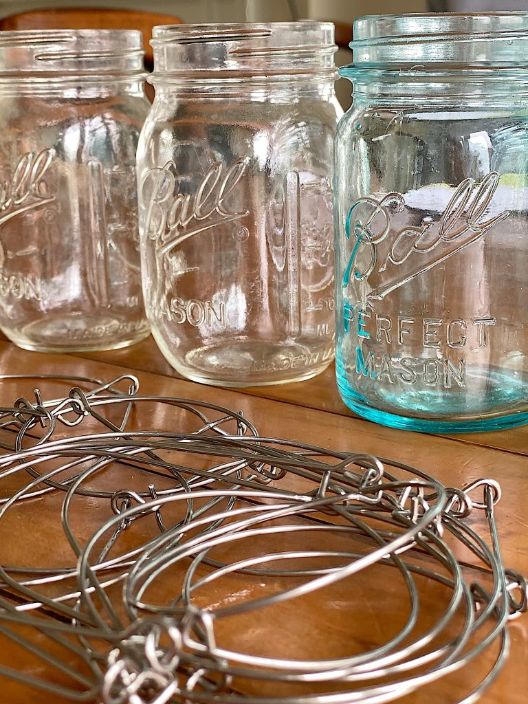 Ball Jar Solar Lanterns