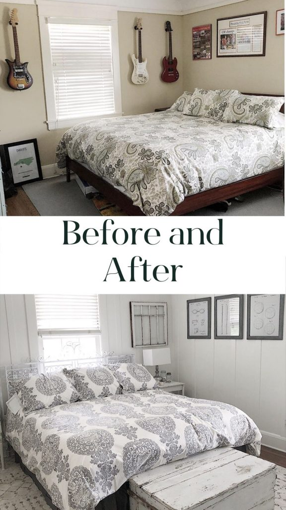 Bedroon Remodel Before and After
