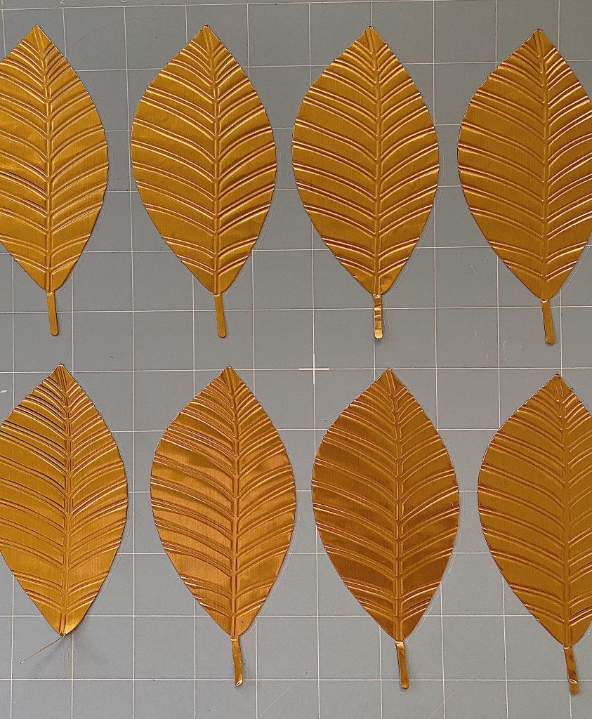 Cricut Cut Leaves