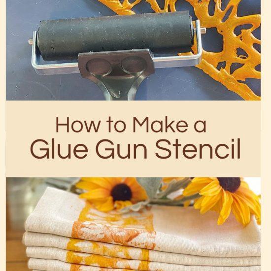 Glue Gun Stencil