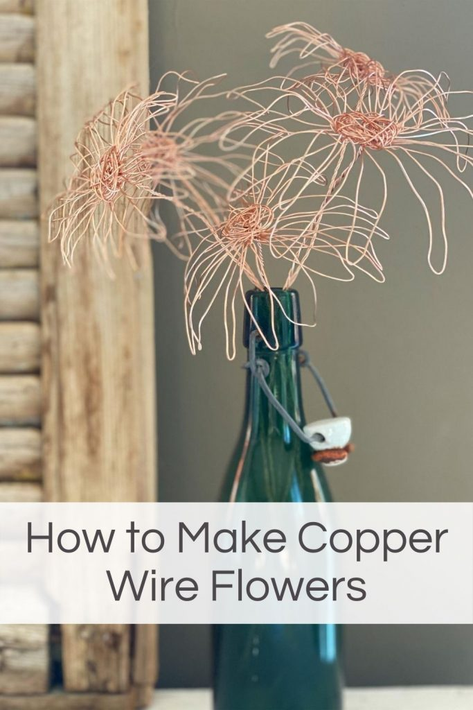 How to Make Copper Wire Flowers