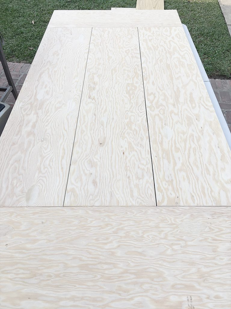 Making the Wood Tabletops