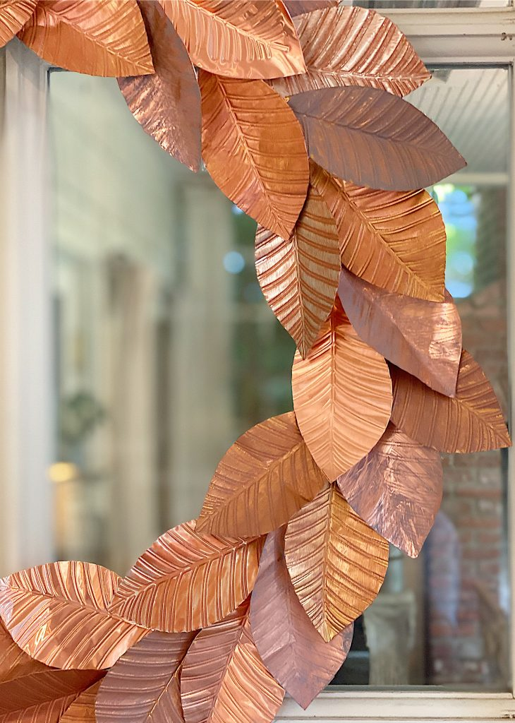 My Favorite Copper Fall Wreath