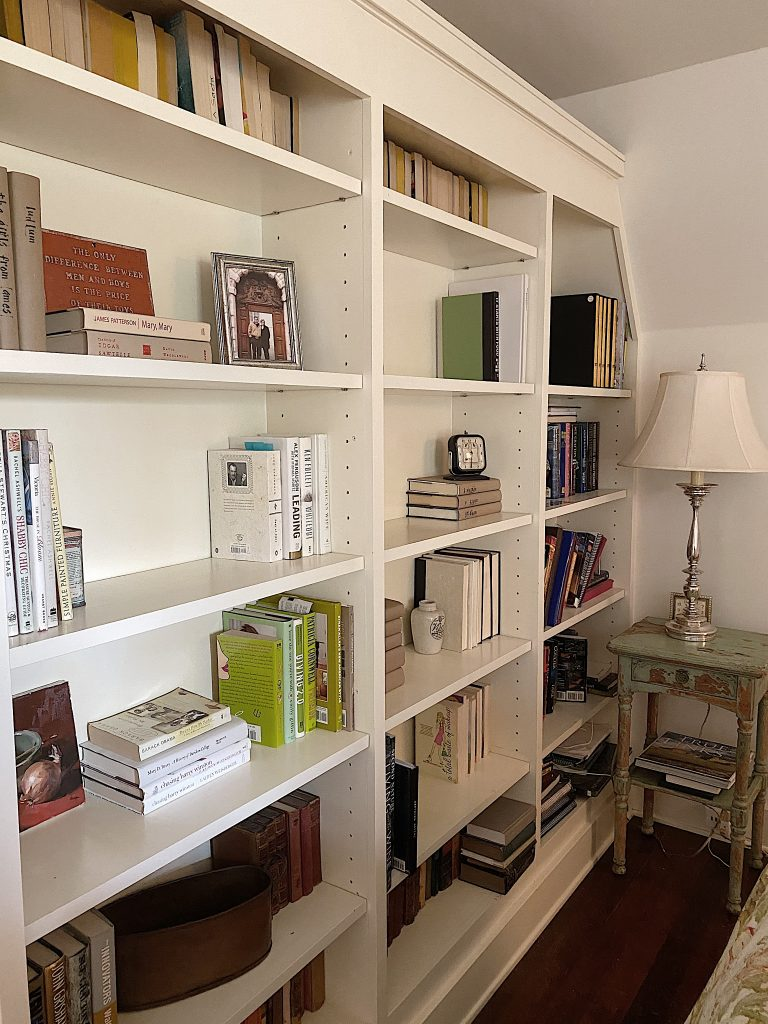 Redoing Bookcases