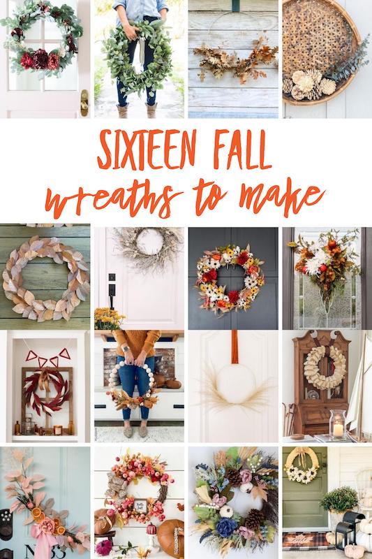 Sixteen Fall Wreaths to Make