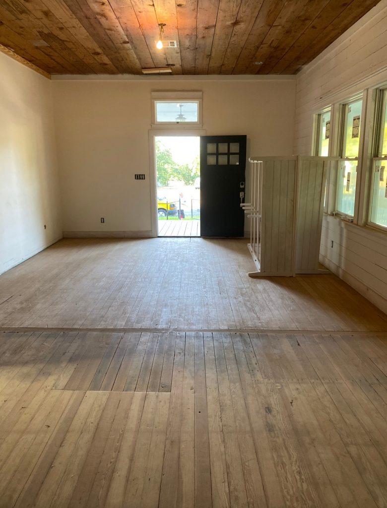Waco Living Room Progress Shot