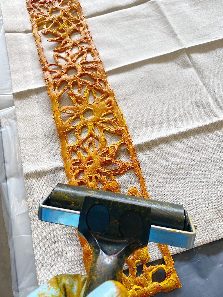 Hot to Make a Glue Gun Stencil