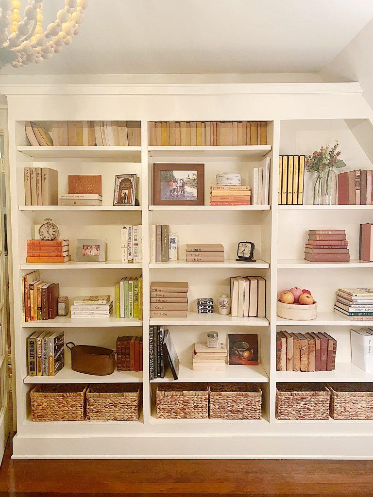 third floor bookcases