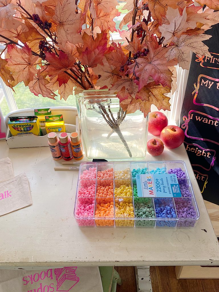 Back to School Crafts at home