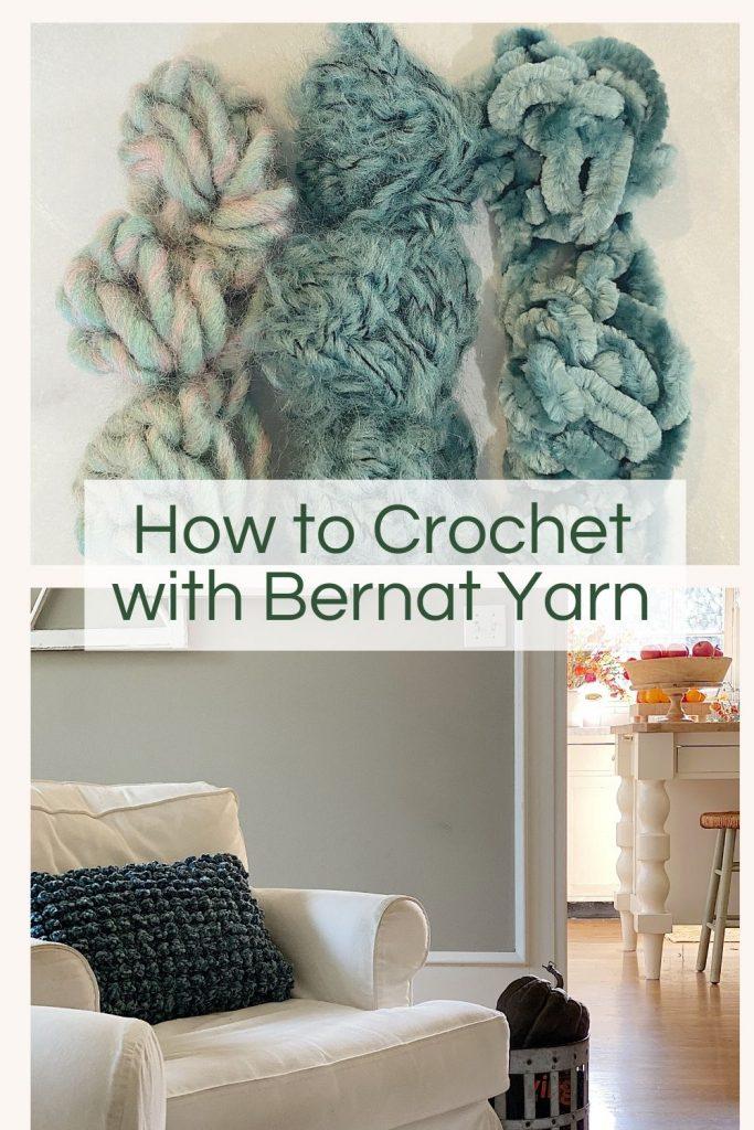 Crochet Bernat Yarn
