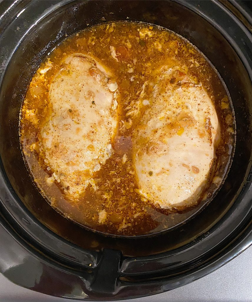 Crock Pot Chicken Breasts Cooked