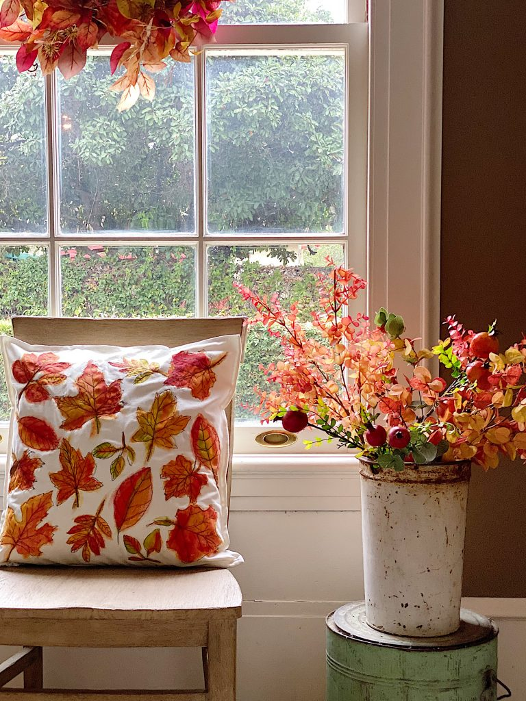 DIY Pillow for Fall