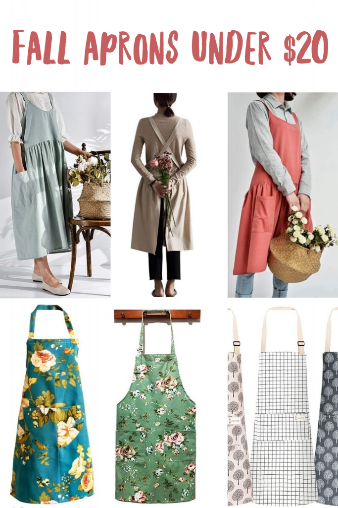 Fall Aprons Under $20